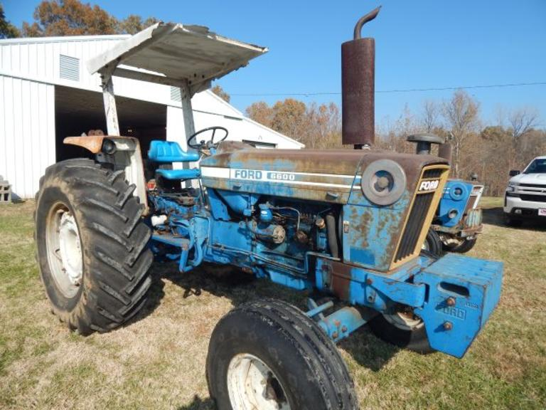 Ford 6600 Diesel Tractor