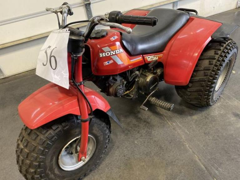 1984 Honda ATC 125M 3 Wheeler- Sharp *BILL OF SALE