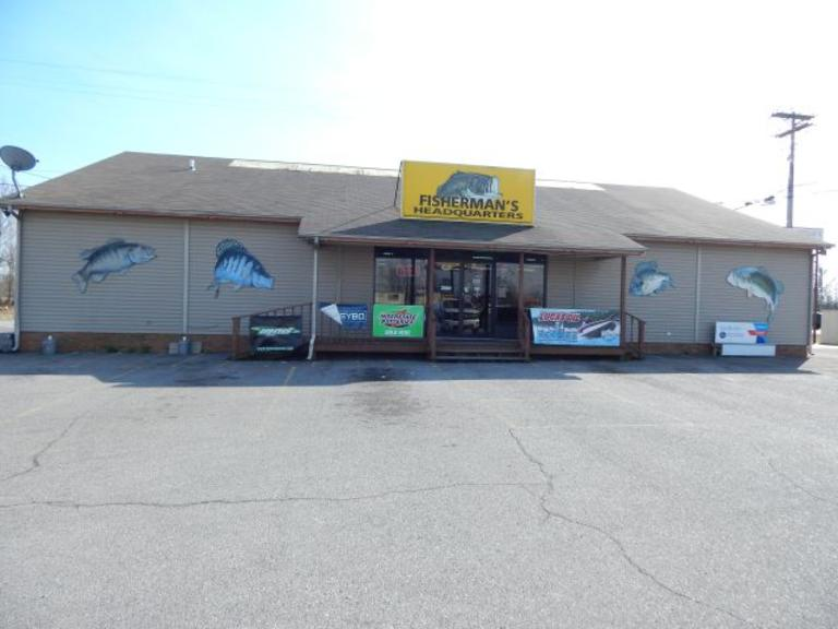 Fisherman's Headquarters- Outstanding +/-3,612 Sq. Ft. Clear Span Building - +/-200 Ft. Road Frontage
