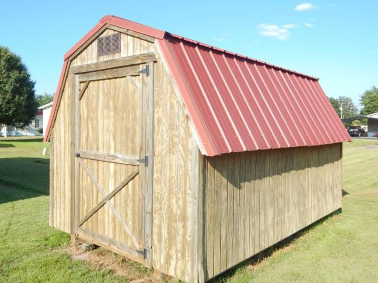 +/-12×8 Ft. Barn Type Storage Building